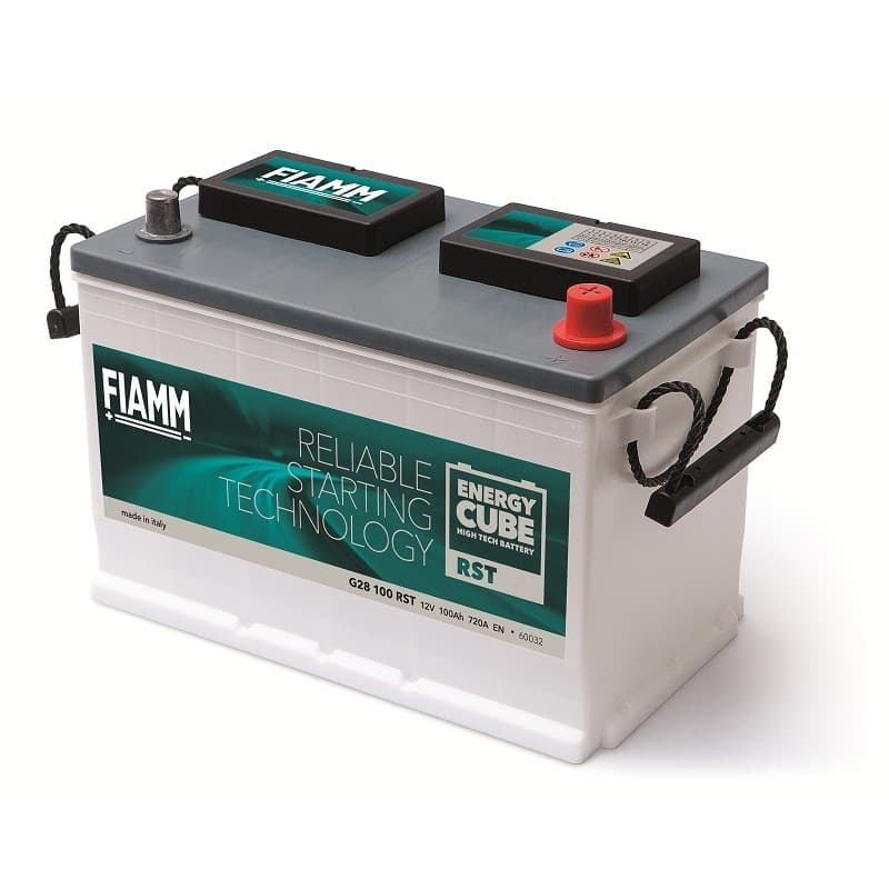 BATERÍA FIAMM 12V Energy CUBE  -  RST -  RELIABLE  STARTER TECHNOLOGY 110Ah - 850A- CB 110RST B01