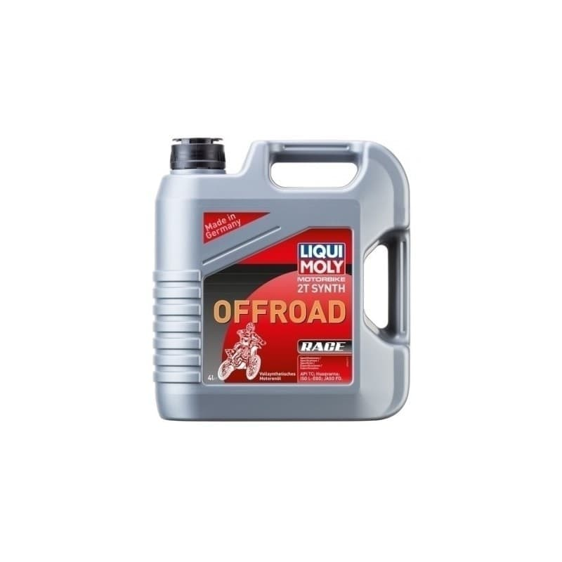 Aceite Liqui Moly 2T SYNTH OFFROAD RACE 3064 4L