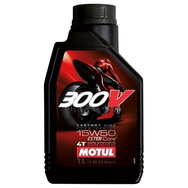 MOTUL 300V FACTORY LINE ROAD RACING 15W50 1L